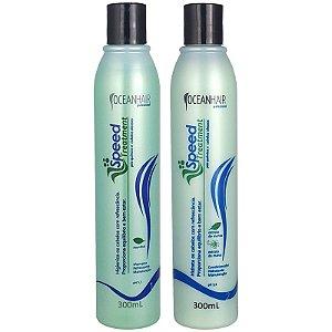 Shampoo e Condicionador Anti Caspa Speed Treatment 2x300ml - Ocean Hair