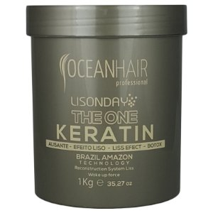 The One Keratin Lisonday Sistema de Reconstrução Botox 1Kilo – Ocean hair