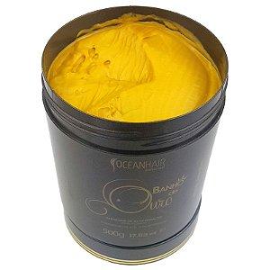 Máscara Banho de Ouro de Alto Impacto 500g - Ocean Hair
