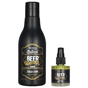 Shampoo e Óleo Para Cabelo e Barba Beer - Ocean Hair