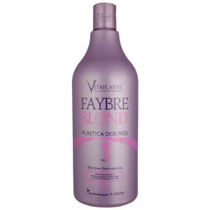 Shampoo Anti-Resíduos Faybre Blond Fase 1 - 1Lt Vitaflyne