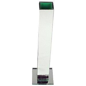 Vasos Solitário Espelhado Decoração Festa Casamento 30 x 3,5 x 3,5 cm - VEG