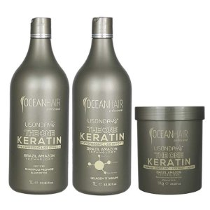 Kit Progressiva The One Keratin Lisonday e Botox The One Keratin - Ocean Hair