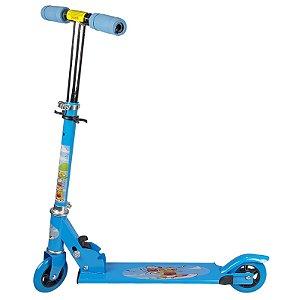 Patinete Infantil Brinquedo 02 Rodas em Gel - Azul
