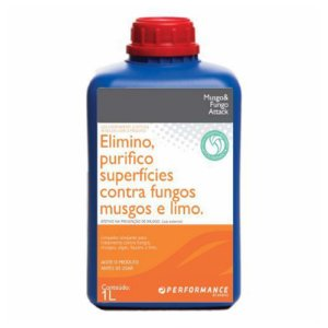 Musgo e Fungo Attack - Elimina Purifica Superfícies Contra Fungos Musgos e Limo 1L - PERFORMANCE