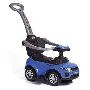 Carrinho Andador Infantil Primeiros Passos Sport Car Com Haste Para Empurrar e Músicas UniToys