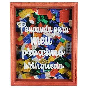 Quadro Cofre Infantil Porta Dinheiro Para Meu Brinquedo - Art