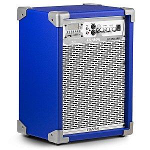 Caixa de Som Amplificada LC350 APP Controle Remoto Conexão Bluetooth USB FM - FRAHM