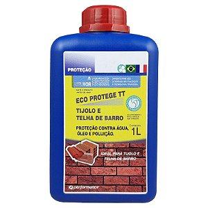 Eco Protege TT Proteção para Telhas e Tijolos contra Água Umidade Óleo e Poluição 1L - Performance