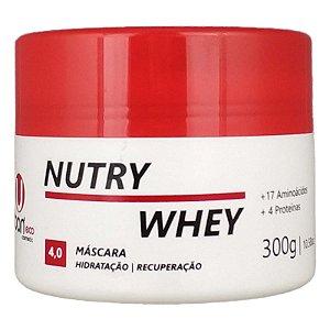 Máscara Hidratação Nutry Whey Home Care Hidratação Brilho e Maciez 300g - Urban Eco