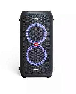 Caixa de som JBL PartyBox 100  portátil para festas com Bluetooth e efeitos de luzes