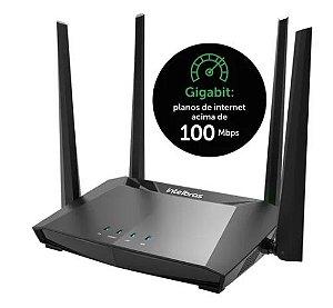 Roteador Action RG 1200 Wi-Fi 5 Intelbras 2.4ghz e 5ghz DUAL BAND 4 ANTENAS