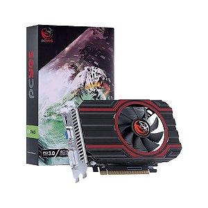 PLACA DE VIDEO NVIDIA GEFORCE GT 740 GDDR 5 4GB 128BIT SINGLE FAN - FULL SIZE - PA740GT12804D5FZ - PCYES