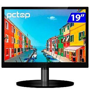 MONITOR PCTOP MLP190 19P LED 16:10 60HZ HDMI VGA