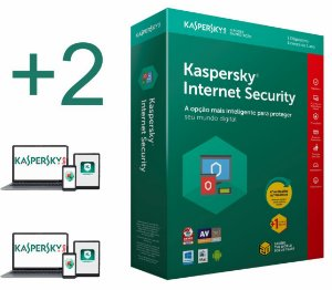 Kaspersky Internet Security 2019  licença para 02 PC's (dispositivos) por 1 ano - VERSÃO DOWNLOAD