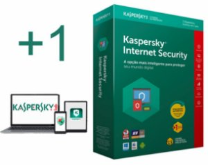 kaspersky Internet Security 2020 para 01 Notebook e 01 Smartphone Android por 1 ano