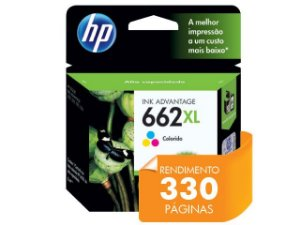 CARTUCHO DE TINTA HP 662XL TRICOLOR 8,0 ML