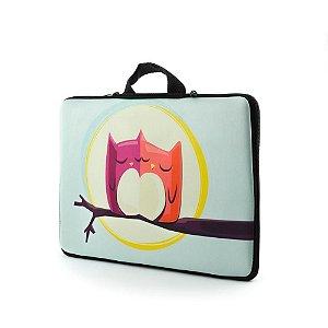 Capa Case com Alça e Zipper para Notebook com tela 15.6'  Neoprene