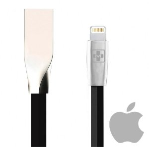 CABO DE DADOS e CARGA LIGHTNING 2A 8P Plug METAL para iPhone 5 6 7