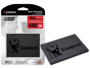 HD SSD 480 GB para Desktop e Notebook Ultrabok KINGSTON SATA 2.5'