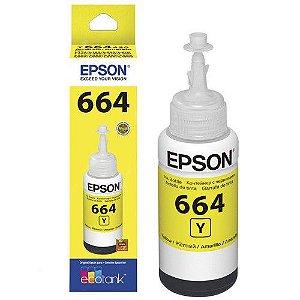 Refil Epson para Tanque de Tinta Amarelo T664420-AL