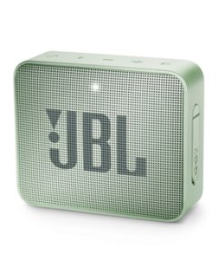 Caixa Bluetooth JBL GO2 Mint, À prova d'água, Bluetooth, S/Fio, Viva voz, Recarregável, Autonomia para 5hs