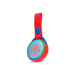 Caixa de Som Bluetooth JBL Jr Pop Vermelho