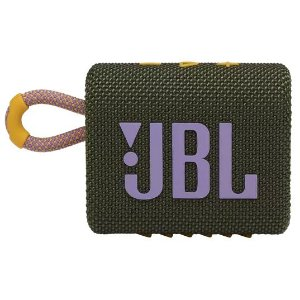 CAIXA BLUETOOTH JBL GO3 GREEN VERDE