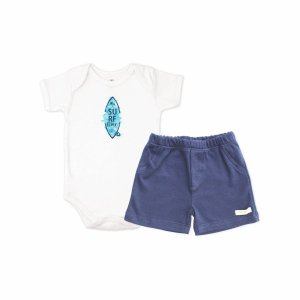 CONJUNTO SHORTS E BODY MANGA CURTA - SURF