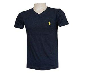 Camisa polo Ralph Lauren Gola V preto