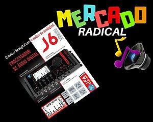 Processador De Audio Digital Jfa J6 Híbrido - 6 Vias