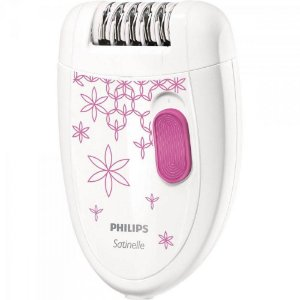 Depilador Philips Satinelle, HP6419/30, Branco e Rosa - Bivolt
