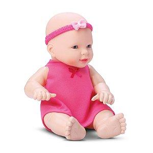 Boneca Clara Baby Com Chupeta - DIVER TOYS