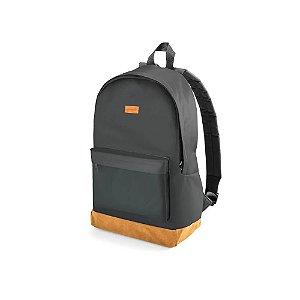 Mochila Student Backpack Preta e Marrom - Até 15.6 - Multilaser