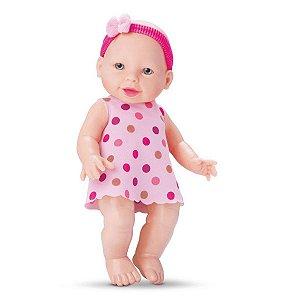 Boneca Tata Baby com Chupeta