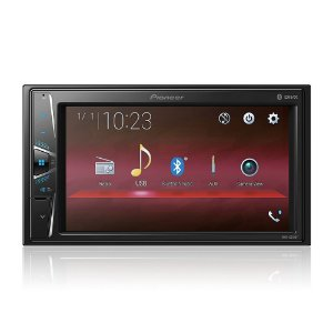 "Central Multimídia Pioneer MVH-G218BT Bluetooth - Touch 6,2"" USB Auxiliar"