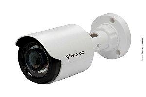 Câmera Flex HD Bullet 1M Lente 2.8 12MM IR Ate 25M IP66 CB128P - TECVOZ