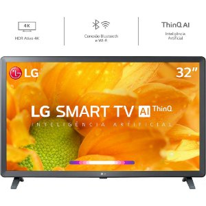 SMART TV 32P LG LED WIFI HD USB HDMI 32LM625BPSB.AWZ