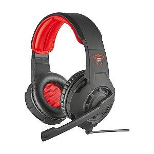 Headset Gamer GXT 310 Radius Preto/Vermelho T21187 - Trust