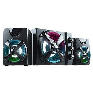 Caixa de Som ZIVA RGB 2.1 11RMS T23644 Trust
