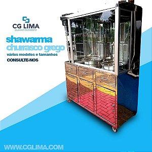 Máquina para Shawarma e Churrasco Grego.