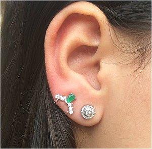 Piercing Fake Esmeralda  - 2PÇ