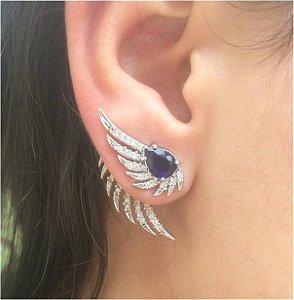 Brinco Ear Cuff Safira