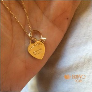 Colar Amore - Ouro