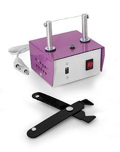 Máquina de Cortar Fita Fuxico + Alicate + Refil de Brinde
