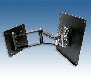 Suporte articulado Airon Wall SA300 V22 até 40 pol Cor Black