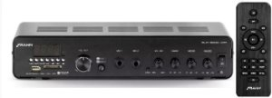 AMPLIFICADOR PARA SOM AMBIENTE FRAHM SLIM 3000APP COM USB FM 200W RMS