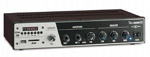 Amplificador para som ambiente SLIM3000 + Caixa acústica Frahm PS200(PAR)