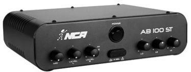 Amplificador para Som Ambiente AB 100 ST (Estéreo) 60 W RMS NCA