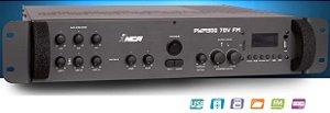 Pré-Amplificador Mixer PWM 300- 70V FM  NCA com USB